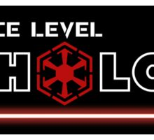 My Force Level: Sith Lord Sticker