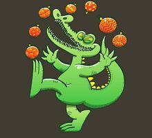 Christmas Alligator Juggling Xmas Balls Unisex T-Shirt