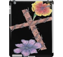 Blossoming Cross iPad Case/Skin