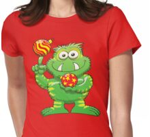 Christmas Monster Womens Fitted T-Shirt