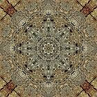 Kaleidoscope of a cave wall by Avril Harris