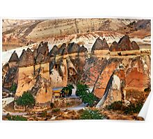 Fairy Chimneys-Downtown Poster