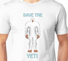 SAVE THE YETI Unisex T-Shirt
