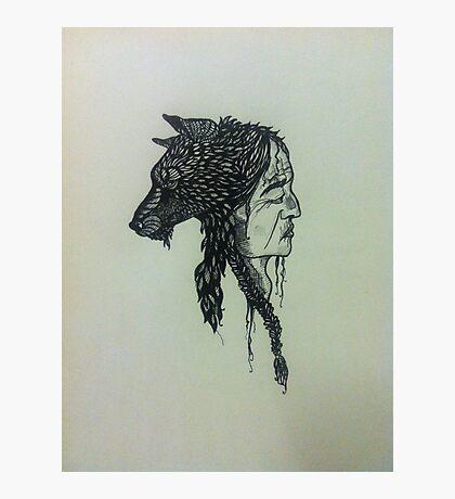 Wolfman Photographic Print