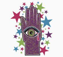 Mystic hand and eye by Tony  Hardy