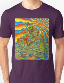 Psychedelic Rainbow Trout T-Shirt