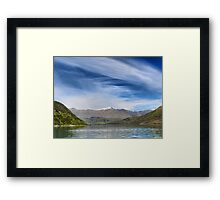Wanaka Blue ( 11 ) Framed Print