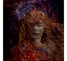 Fire Mermaid  Photographic Print