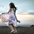 dancing with the wind by Komang