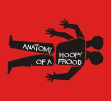 Anatomy of a Hoopy Frood Kids Tee