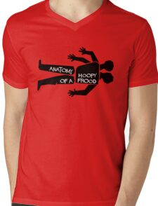 Anatomy of a Hoopy Frood Mens V-Neck T-Shirt
