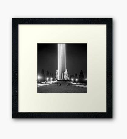 Dark MOFO—SPECTRA Framed Print