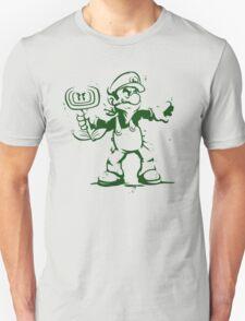 Green Flower Bomber T-Shirt