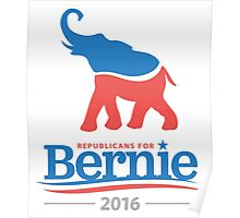 Republicans for Bernie Poster