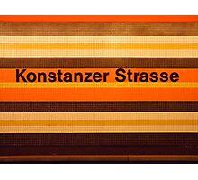 Konstanzer Straße Photographic Print
