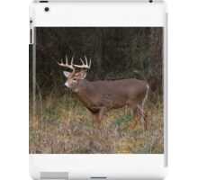 On the hunt - White-tailed Buck iPad Case/Skin