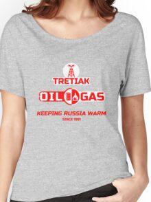 Tretiak Oil & Gas Women's Relaxed Fit T-Shirt