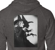 bad witch Zipped Hoodie
