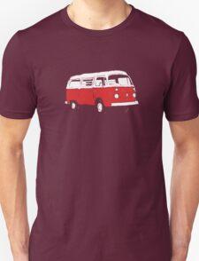 New Bay Campervan Red T-Shirt