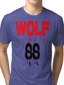 ♥♫WOLF 88-Splendiferous K-Pop EXO Clothes & Stickers♪♥ Tri-blend T-Shirt