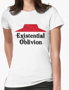 Existential Oblivion Womens Fitted T-Shirt