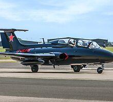 Aero L-29 Delfin G-DLFN by Colin Smedley