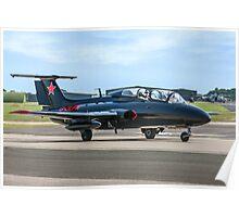 Aero L-29 Delfin G-DLFN Poster