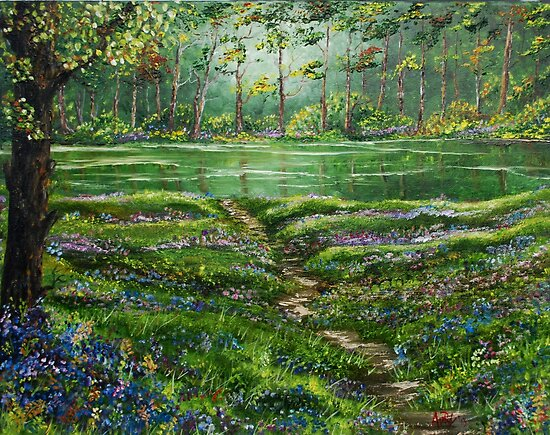 Woodland Peace by Avril Brand