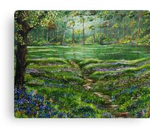 Woodland Peace Canvas Print