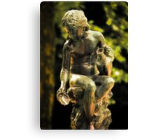 Water Lady Canvas Print