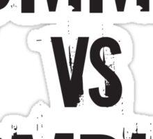 Mummies VS Zombies Sticker