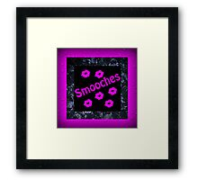 Smooches Framed Print