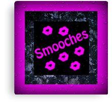 Smooches Canvas Print