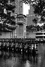 Brickell Avenue Bridge by Bill Wetmore
