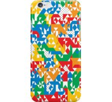 Multicolour Triangles iPhone Case/Skin