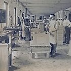 Cabinet Card: c1890 Woodworkers in a Furniture Shop by toolemera