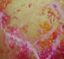Raise Your Hearts abstract painting by VibrantDesigns