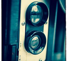 Vintage Twin Lens Reflex Camera by Edward Fielding
