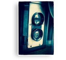 Vintage Twin Lens Reflex Camera Canvas Print