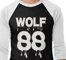 ♥♫WOLF 88-Splendiferous K-Pop EXO Clothes & Stickers♪♥ Men's Baseball ¾ T-Shirt