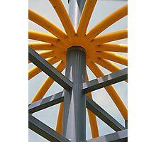 Painted Playground Equipment Photographic Print