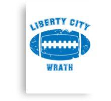 Liberty City Wrath Canvas Print