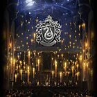 Slytherin Great Hall - iPad 1 by Serdd