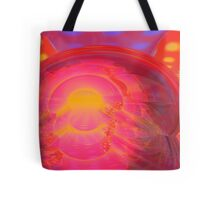 Abstract Digital Painting #34 - Crossed Hearts Rampage Tote Bag