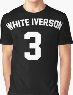 White Iverson - White Graphic T-Shirt