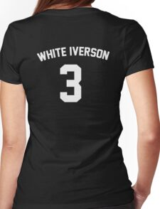 White Iverson - White Womens Fitted T-Shirt