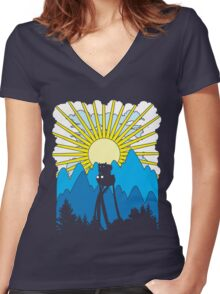 Imaginary Adventure Women's Fitted V-Neck T-Shirt
