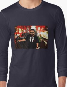 Perfect Strangers (Cartoon) Long Sleeve T-Shirt