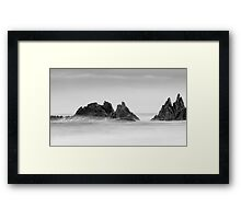 Misty Framed Print
