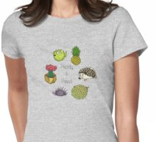 Prickly & Proud Womens Fitted T-Shirt
